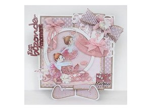 Marianne Design Stamping template: Ballet shoes