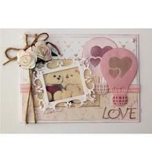 Joy!Crafts Stamping template: Love balloon