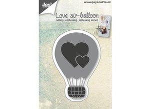 Joy!Crafts Stansning skabelon: Kærlighed ballon