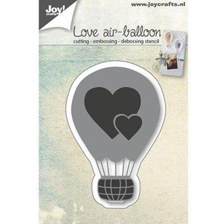 Joy!Crafts La perforación de plantilla: Globo Amor