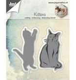 Joy!Crafts Stanzschablone: Katzen, spielend und sitzend