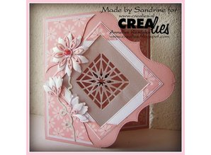 Crealies und CraftEmotions Stamping template, border