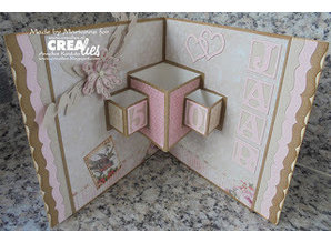 Crealies und CraftEmotions Punching template border