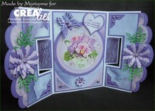 Crealies und CraftEmotions Stamping template, border - Copy