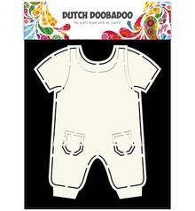 Dutch DooBaDoo A5 tipo di carta del modello, i vestiti Pub