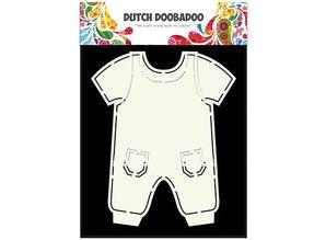 Dutch DooBaDoo A5 skabelon korttype, tøj Pub