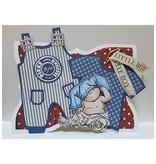 Dutch DooBaDoo A5 tipo de tarjeta de plantilla, ropa Pub