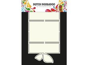 Dutch DooBaDoo A4 skabelon kort Butterfly Art