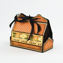 Stempelen en embossing sjabloon: Cupcake & Treat Box The Set