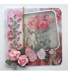Joy!Crafts stampi di taglio: 3D Rosa