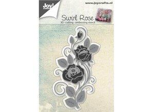 Joy!Crafts Stanzschablonen: 3D Rose