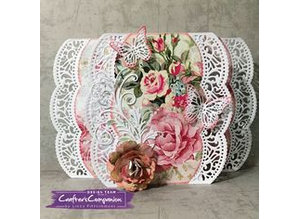 Crafter's Companion Stamping template: Shabby chic, borders