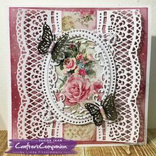Crafter's Companion Punching template: Shabby Chic, border