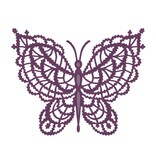 Creative Expressions Stansning skabelon: blonde sommerfugl