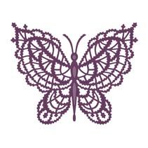 Stanzschablone: Spitze Schmetterling