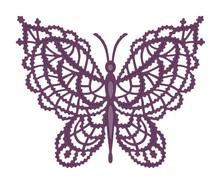 Creative Expressions modello di punzonatura: farfalla pizzo