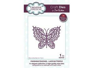 Creative Expressions plantilla de perforación: Mariposa de encaje