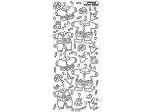 Sticker Ziersticker: Baby boy clothes