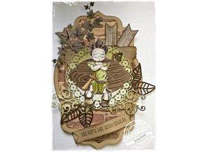 Joy!Crafts Stamping template: circle and corner