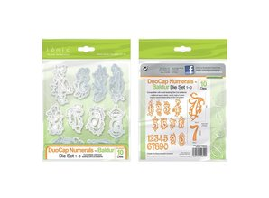 TONIC Stamping and embossing template: petite figures