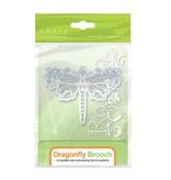 TONIC Stempling og prægning skabelon: Dragonfly