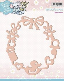 Yvonne Creations Embossing and cutting template, baby frame