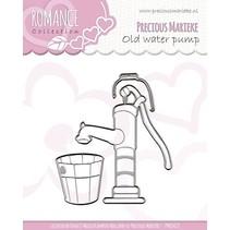 Stanz- und Prägeschablonen, Romance Kollektion, alte Wasserpumpe