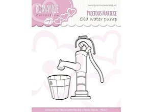 Precious Marieke Stanz- und Prägeschablonen, Romance collection, old water pump