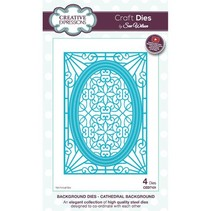 Stamping template: Cathedral Background