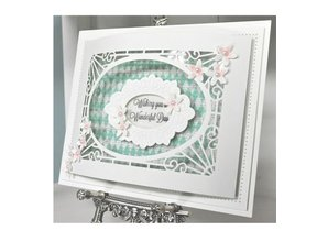 Creative Expressions Stamping template: Cathedral Background