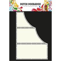 Kunstschablone für Kartendesign