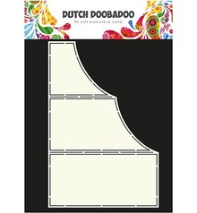 Dutch DooBaDoo Art template for card design