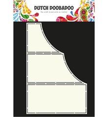 Dutch DooBaDoo Kunst skabelon til kort design