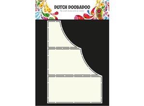 Dutch DooBaDoo Art template for card design