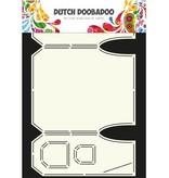 Dutch DooBaDoo Arte plantilla de diseño de la tarjeta