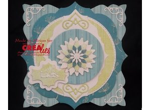 Crealies und CraftEmotions Stan templates: corner