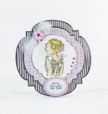 TONIC Troqueles de corte: Marco de la flor de Deco
