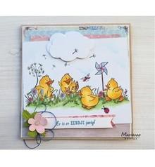 Marianne Design Stamp trasparente: cute anatroccoli