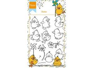 Marianne Design Gennemsigtig Stempel: søde ællinger