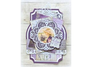 Marianne Design Punching template: Vintage decorative frame and corner