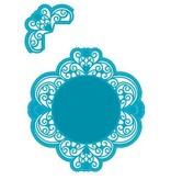 Marianne Design Stansning skabelon: Vintage dekorativ ramme og hjørne