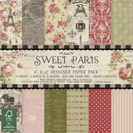 DESIGNER BLÖCKE  / DESIGNER PAPER Designerblock: Sweet Paris