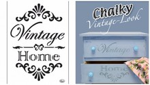 Dutch DooBaDoo Universal-Schablone Vintage Home A4