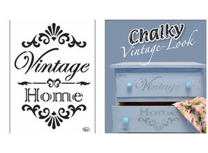 Dutch DooBaDoo Universal skabelon Vintage Hjem A4