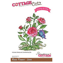 NEW Stamping template + stamp: Flower