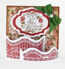 TONIC Stamping and embossing template: Dimensions - Window Box - Pretty Piazza - 1561E