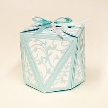 TONIC Estampado y grabado en relieve de plantilla: diamante de la caja
