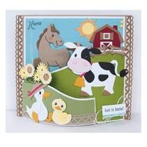 Ponsen sjabloon: Eline's koe