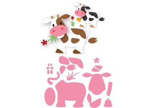 Marianne Design Punching template: Eline's cow
