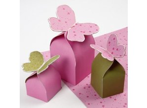 DESIGNER BLÖCKE  / DESIGNER PAPER Folding carton box, 10 sheets 25.5x36 cm